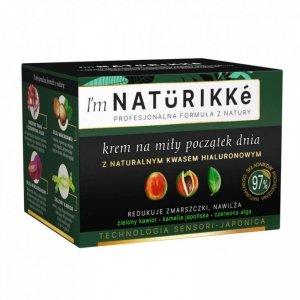 I'm Naturikke Krem na miły początek dnia z naturalnym kwasem hialuronowym 50ml