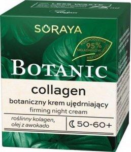 Soraya Botanic Collagen 50-60+ Botaniczny Krem ujędrniający na noc  75ml