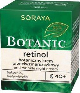 Soraya Botanic Retinol 40+ Botaniczny Krem przeciwzmarszczkowy na noc 75ml