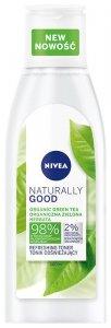 Nivea Naturally Good Tonik odświeżający z organiczną zieloną herbatą 200ml