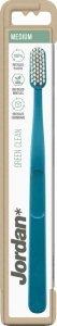 Jordan Green Clean Szczoteczka do zębów - medium (mix kolorów) 1szt