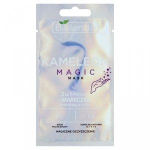 Bielenda Peeling + Maseczka zmieniająca kolor 2w1 Kameleon Magic  8g