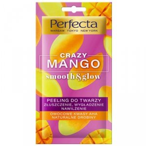 Perfecta Crazy Mango Peeling do twarzy - złuszczenie,nawilżenie i wygładzenie 8ml