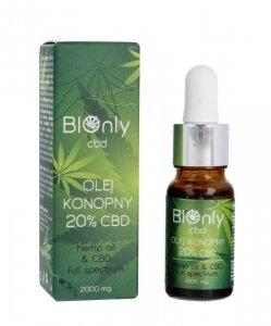 BIOnly CBD Olej konopny 20%  10ml