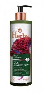 FARMONA HERBS Szampon 400ml Olej Amarantusowy&