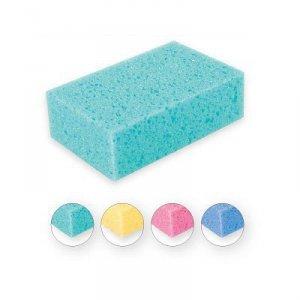 Top Choice Akcesoria kąpielowe Gąbka do kąpieli standardowa mix 4 kolorów   30444