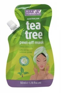 Beauty  Formulas Tea Tree Maseczka peel-off  50ml
