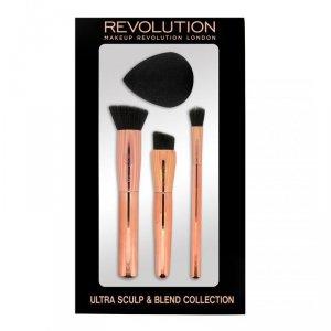 Makeup Revolution Ultra Sculpt & Blend Collection Zestaw Akcesoriów do makijażu  1op.
