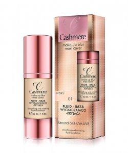 Dax Cosmetics Cashmere Fluid -baza wygładzająco-kryjąca nr 01 Ivory  30ml