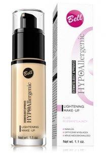 Bell Hypoallergenic Fluid rozświetlający Lightening  nr 04 Golden Beige   30g