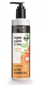 Organic Shop Żel pod prysznic Orzeźwiający Grejpfrut 280 ml