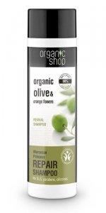 Organic Shop szampon do włosów Regenerujący Księżniczka Maroko