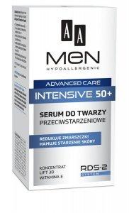 AA Men Adventure Care Serum do twarzy Intensive 50+ przeciwstarzeniowe  50ml