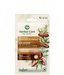 Farmona Herbal Care Maseczka odżywcza Olejek Arganowy - saszetka 5ml x 2