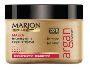 Marion Professional Argan Organiczny Maska do włosów intensywnie regenerująca  450g