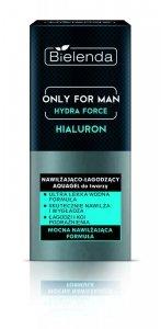 Bielenda Only for Man Hydra Force Aquagel do twarzy nawilżająco-łagodzący   50ml