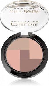 Eveline All-in-One Highlighter Blush Róż-mozaika rozświetlający nr 01  6.5g
