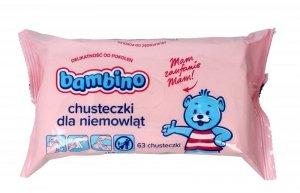 BAMBINO Chusteczki - wkład   1op.x 63 szt