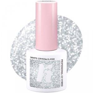 Hi Hybrid Lakier hybrydowy nr 104 White Crystals  5ml