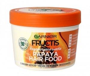 Fructis Hair Food Maska do włosów regenerująca Papaya  390ml