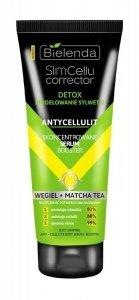 Bielenda Slim Cellu Corrector Detox Skoncentrowane Serum Booster Węgiel+Matcha Tea  250ml
