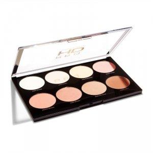 Makeup Revolution Pro HD Palette Amplified 8 Zestaw matowych cieni do powiek Mega Matte  1szt