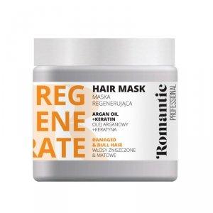 Romantic Professional Maska do włosów Regenerate  500ml