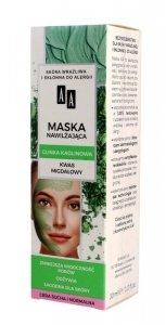 AA Carbon & Clay Maska nawilżająca z glinką kaolinową - cera sucha i normalna  30ml