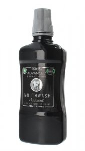 Beauty Formulas Mouthwash Płyn do płukania jamy ustnej Charcoal  500ml