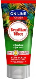 On Line Senses Peeling do ciała Brasilian Vibes  200ml