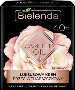 Bielenda Camellia Oil 40+ Luksusowy Krem przeciwzmarszczkowy na dzień i noc  50ml