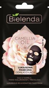 Bielenda Camellia Oil Luksusowa Maseczka odmładzająca-hydroplastyczny płat 3D  1szt