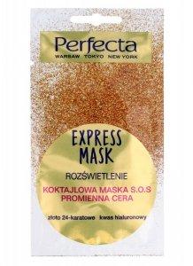 Perfecta Express Mask Koktajlowa Maska S.O.S rozświetlająca 8ml
