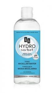 AA Hydro Sorbet Woda micelarna tonizująca -cera normalna  400ml