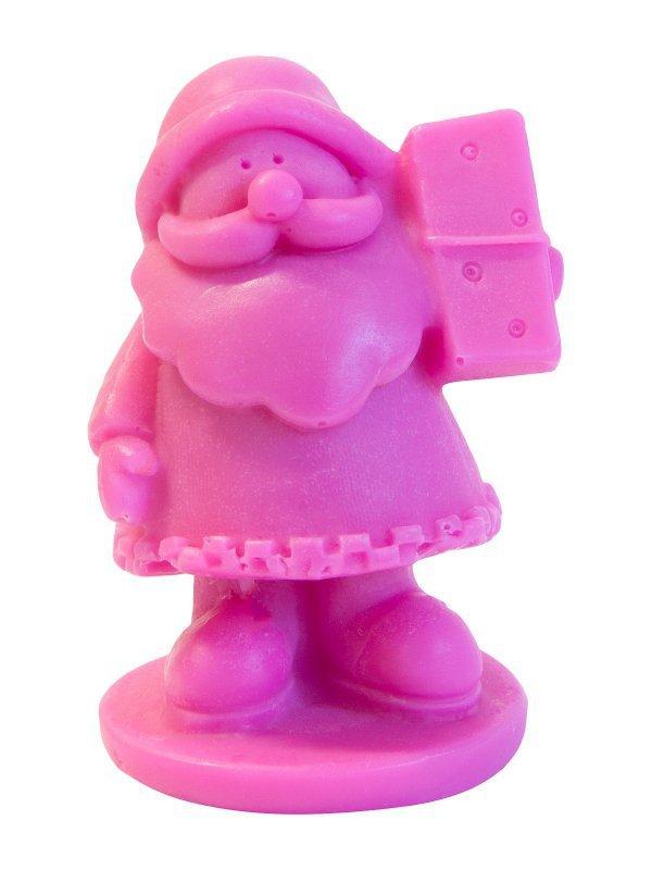 LaQ Mydełko glicerynowe Mały Święty Mikołaj - różowy  30g