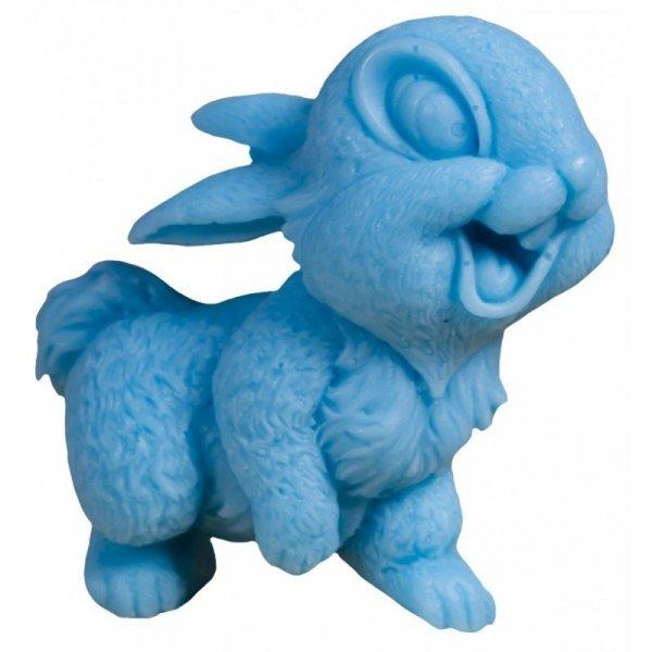LaQ Mydełko glicerynowe Uśmiechnięty Królik - niebieski  60g