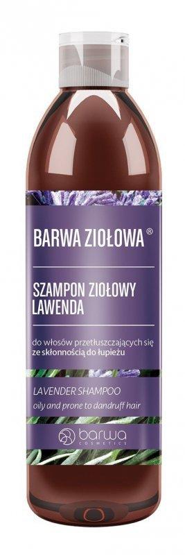 BARWA Ziołowa Szampon do włosów Lawenda - włosy przetłuszczające się i z łupieżem  250ml