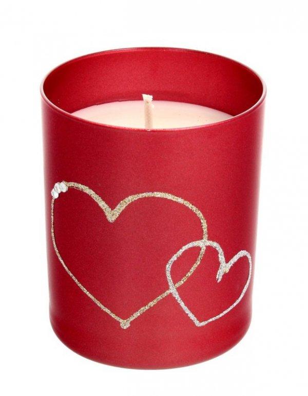 ARTMAN Świeca zapachowa Forever Glass czerwona 1szt