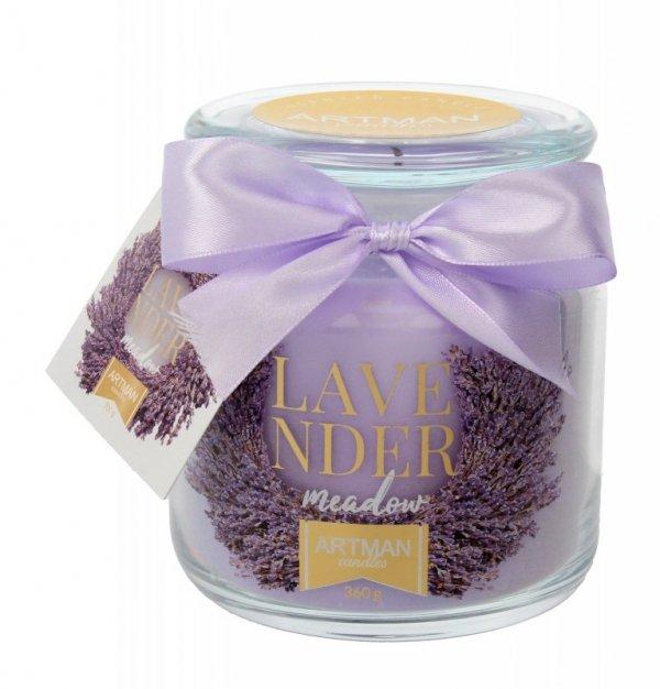 ARTMAN Świeca zapachowa Lavender Meadow słoik mały 1szt-360g
