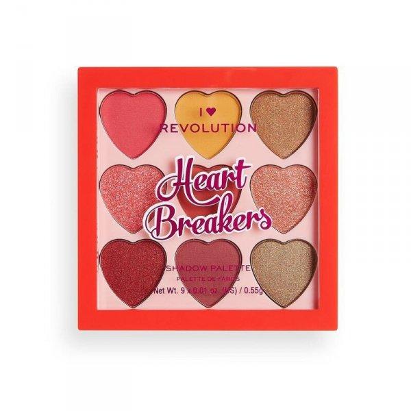 I HEART MAKEUP Paleta cieni Heartbreakers Courage