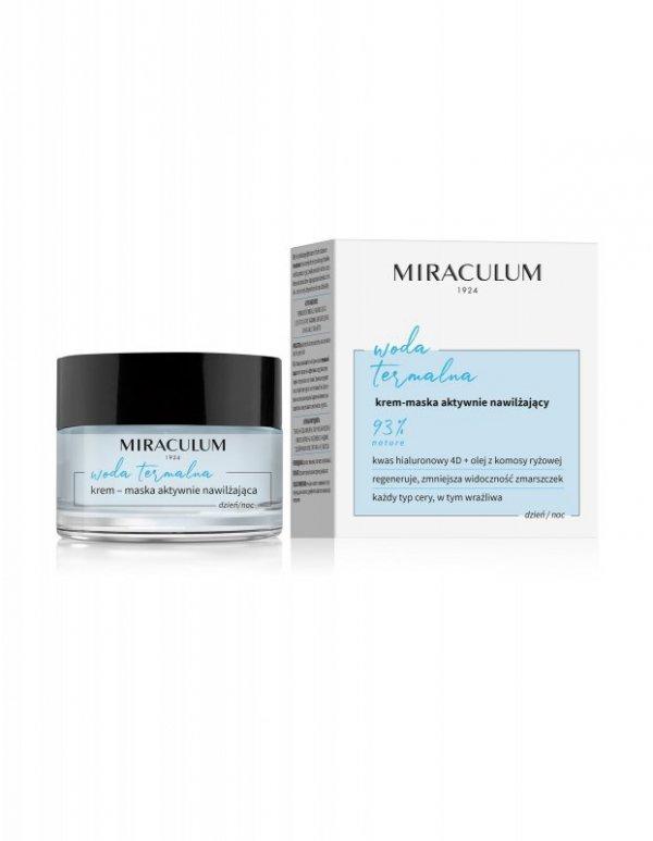 Miraculum Woda Termalna Krem-maska aktywnie nawilżający na dzień i noc  50ml
