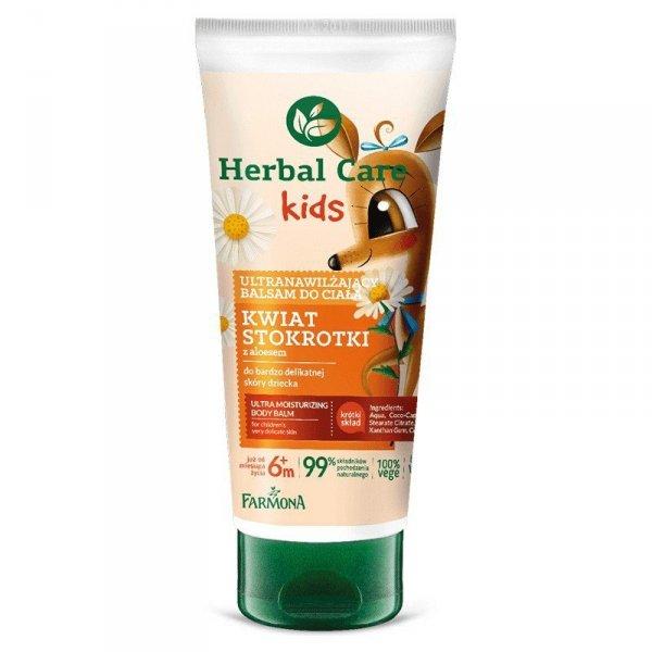 Farmona Herbal Care Kids Ultranawilżający Balsam do ciała dla dzieci Kwiat Stokrotki 200ml