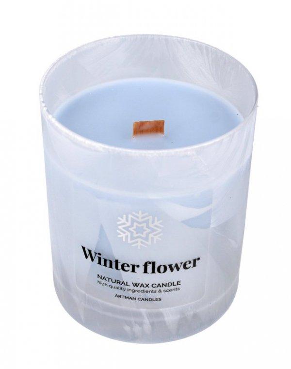 ARTMAN Boże Narodzenie Świeca zapachowa Organic Winter Flower z drewnianym knotem 1szt