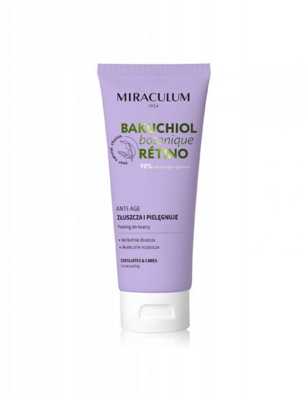 Miraculum Bakuchiol Botanique Peeling do twarzy - złuszcza i pielęgnuje 100ml
