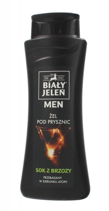 Biały Jeleń Men Żel pod prysznic Sok z Brzozy 300ml
