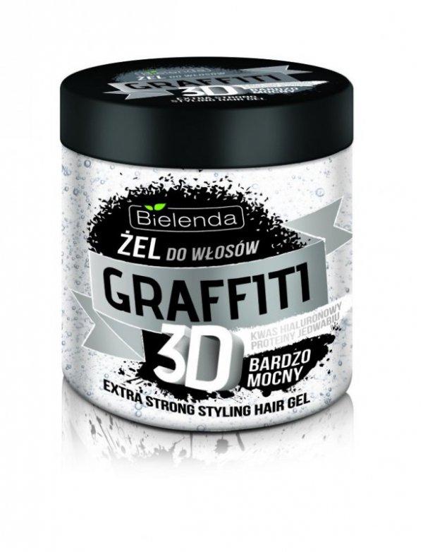 Bielenda Graffiti 3D Żel do układania włosów bardzo mocny  250ml