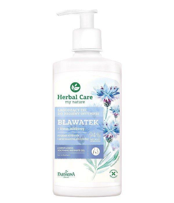 Farmona Herbal Care Żel do higieny intymnej łagodzący Bławatek  330ml