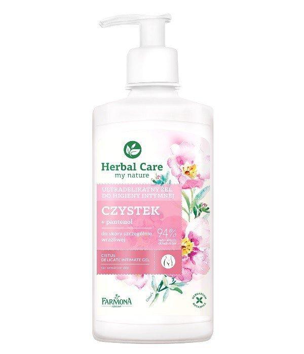 Farmona Herbal Care Żel do higieny intymnej ultradelikatny Czystek  330ml
