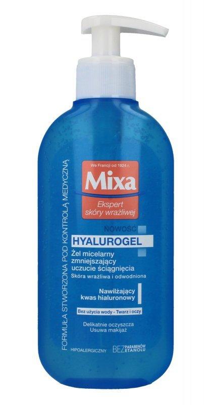 Mixa Żel micelarny zmniejszający uczucie ściągnięcia Hyalurogel  200ml