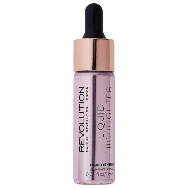 Makeup Revolution Liquid Highlighter Rozświetlacz w płynie Ethereal  18ml